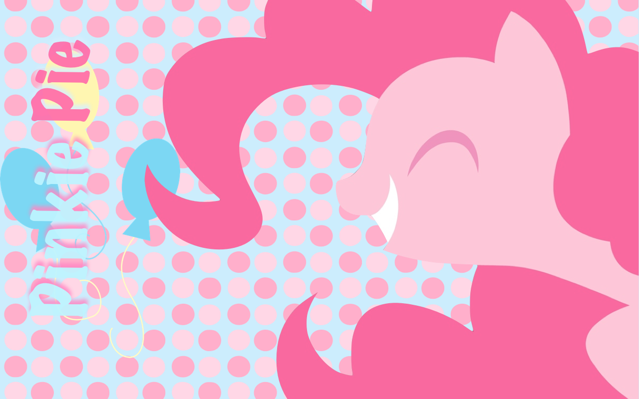 Simple Pinkie Pie Wallpaper By RainbowDash180