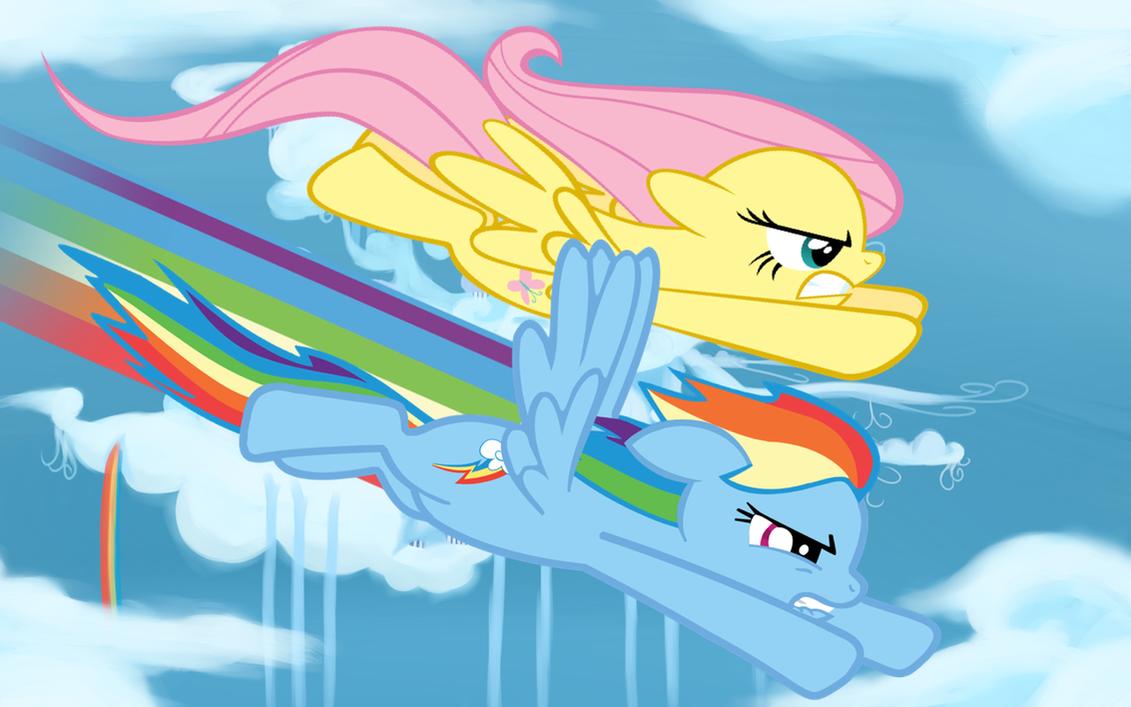 The Race by RainbowDash180