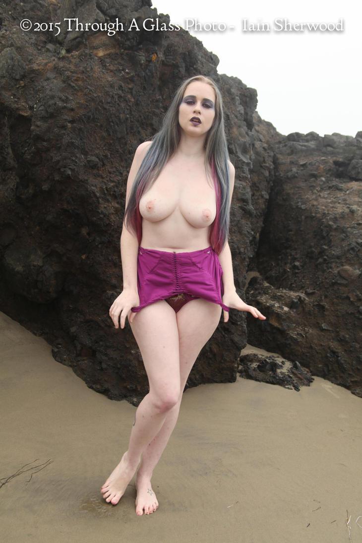 Mermaid on the Beach 86 by Teuchtar
