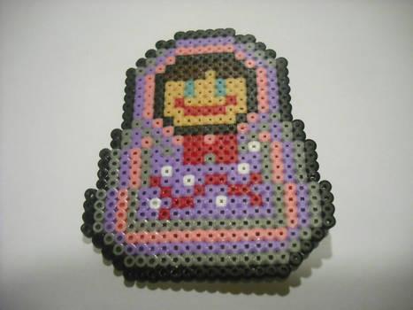 Matrioska para Mama Lulu- Hama Beads
