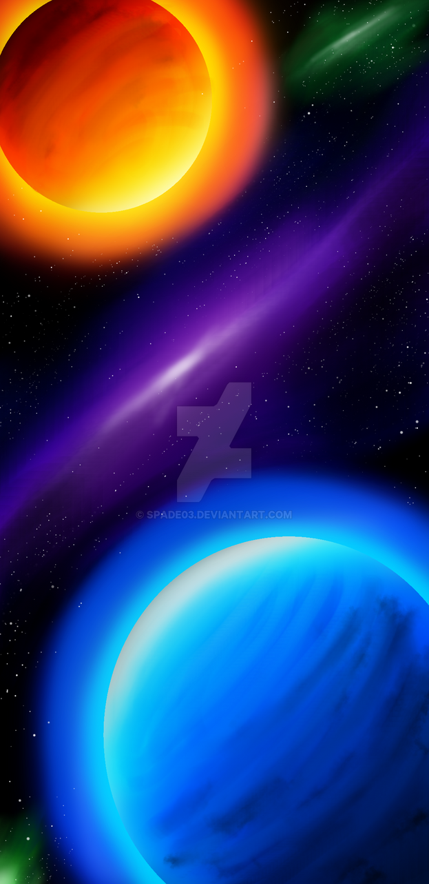 Planets and colors