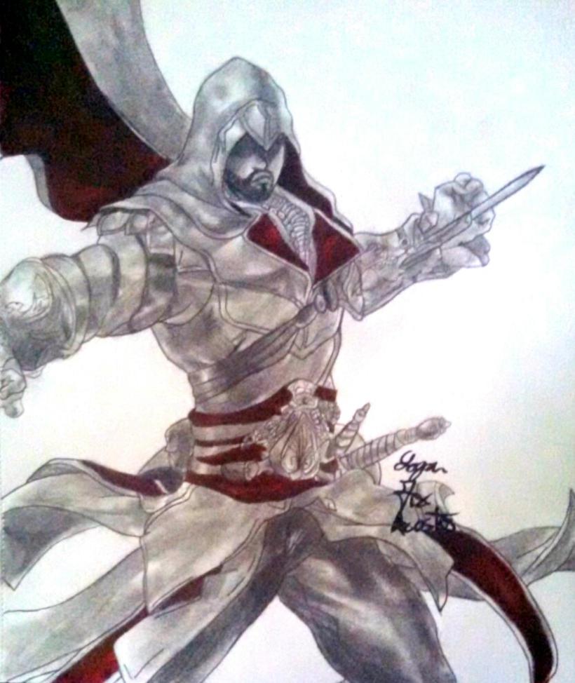 Ezio Auditore by Espada357