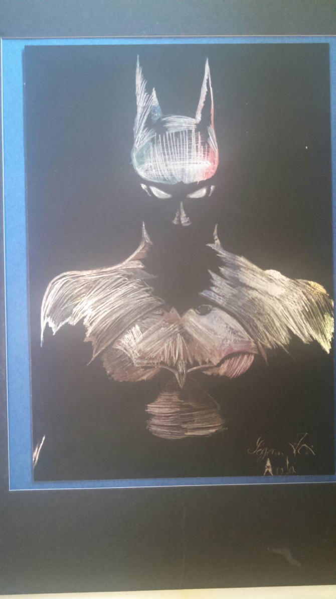 Batman Scratch Art by Espada357
