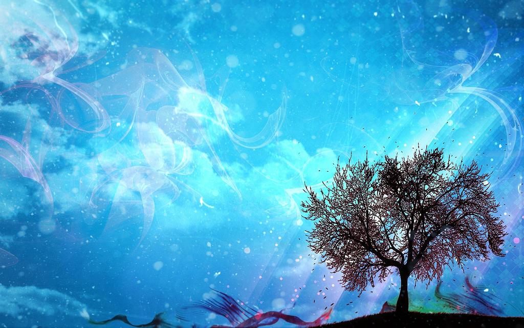 Custom Free Wallpaper Blue Relaxation By Cristidfs On Deviantart