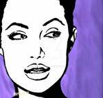 Angelina Jolie Toon