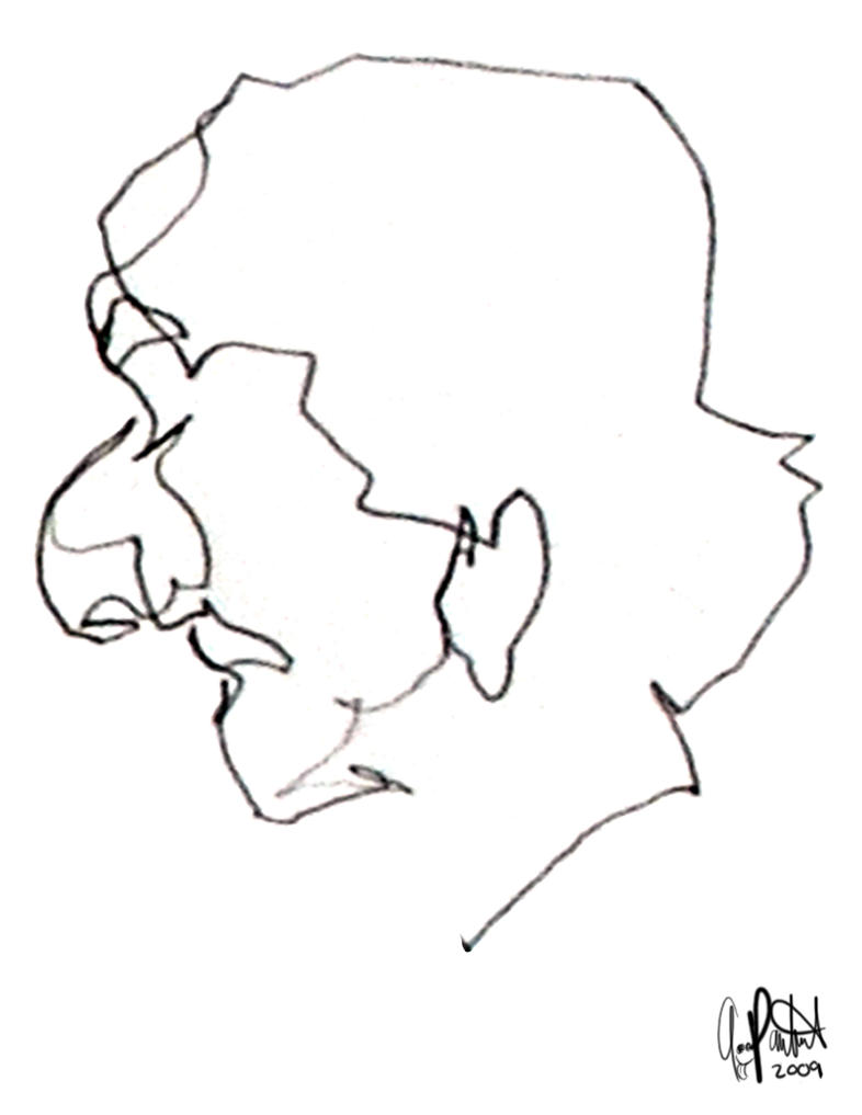 Contour Line Drawing Makeup : Blind contour face by tonypants on deviantart