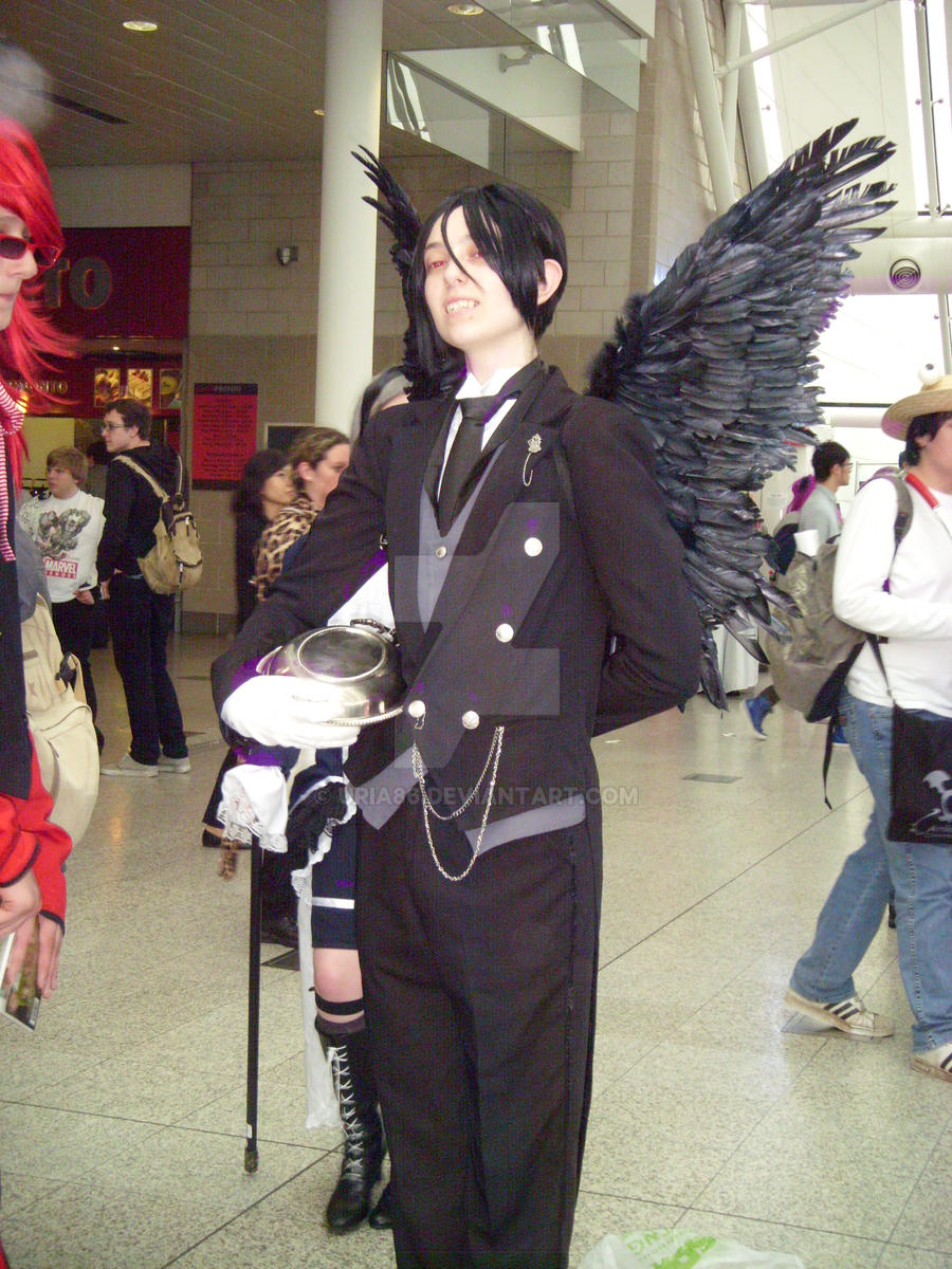 Cosplay - Sebastian Michaelis by Uria86 on DeviantArt