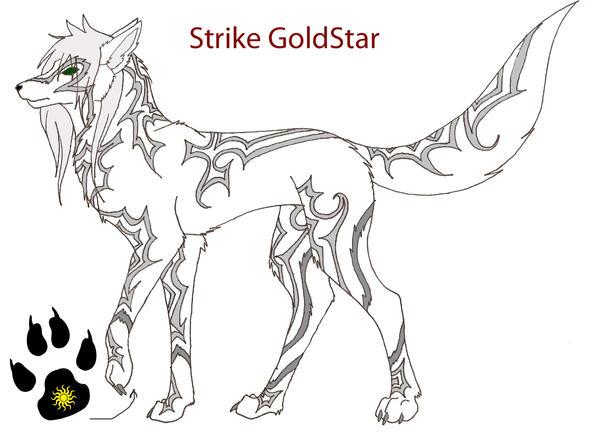 The Eispferd [Ice-wolves] Strike_Goldstar_Wolf_Form_by_Manar_Darkwing