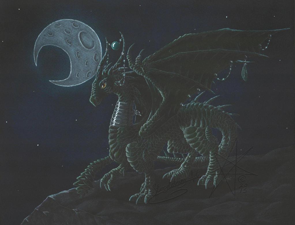 Commission: 'Moonlight' by Emisferosinistro