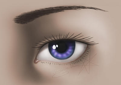 Eye - practice by Emisferosinistro