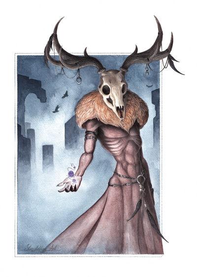 Necromancer  by Emisferosinistro