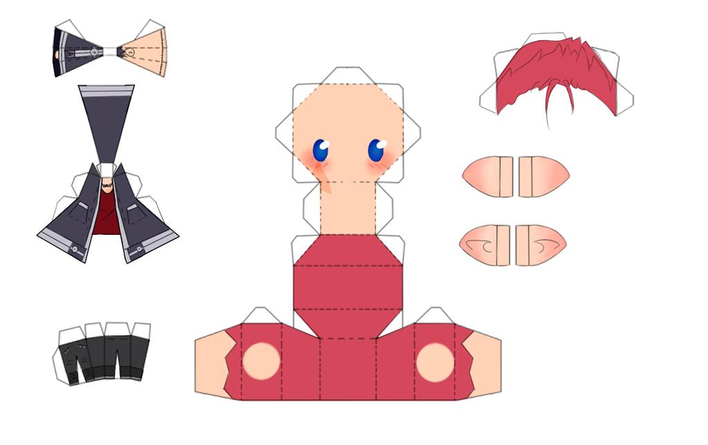 PaperCraft Faeddur by TitanFishKiller