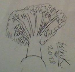 InkTober Day 7-Tree by TheYummyPie
