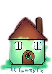 InkTober Day 8-House by TheYummyPie