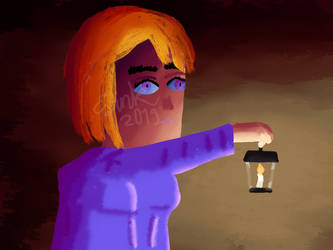 Candle (Practice Painting) by TheYummyPie