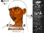Freckle and Blemish Brushes for Procreate by KiraMarieArt