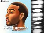 Skin Blending Brushes for Procreate by KiraMarieArt