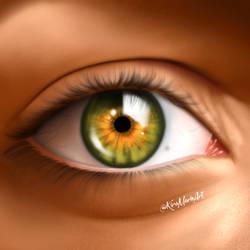 Eye Study #2   Kira-Marie Art