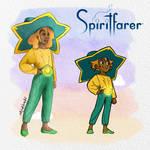 Spiritfarer Stella|Side by Side| Kira-Marie Art by KiraMarieArt