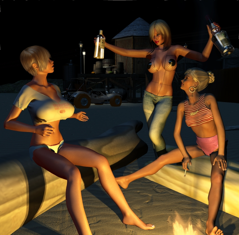 Party At Camp Fornax by cottonkidd