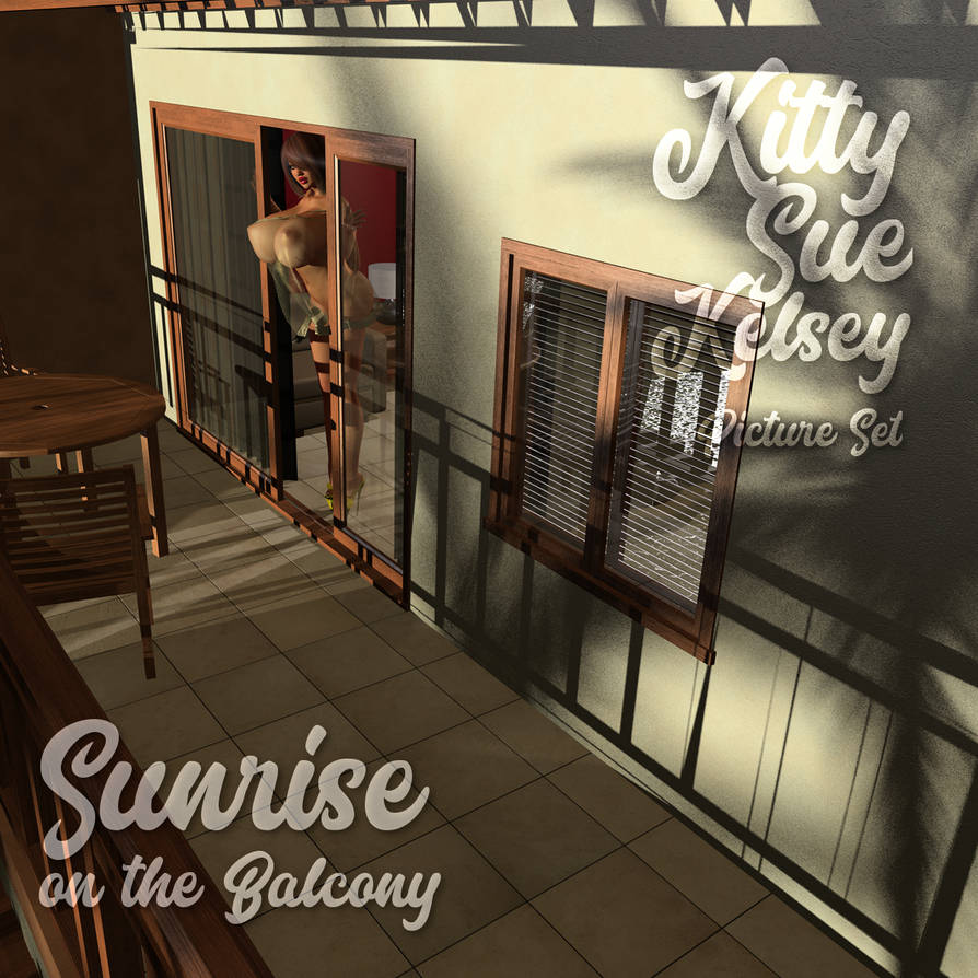Kitty Sue Kelsey - Sunrise Balcony - PREMIUM SET by cottonkidd