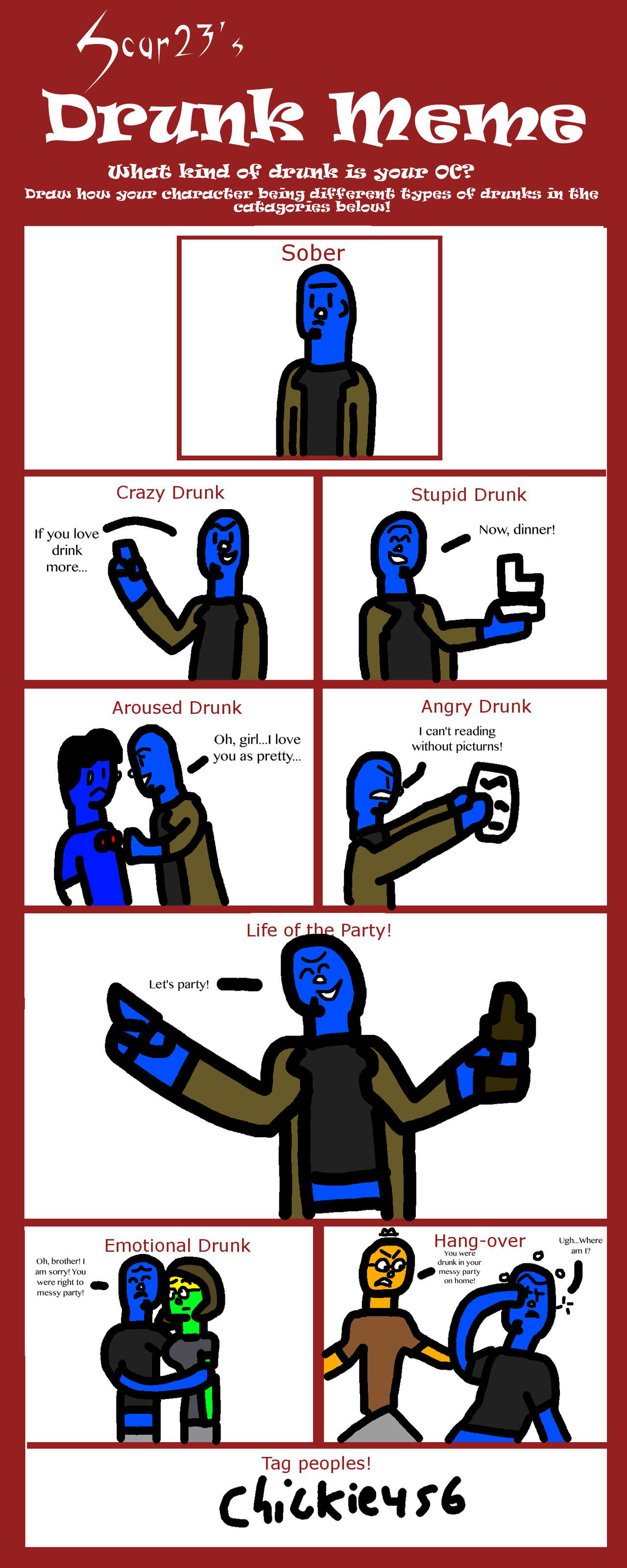 Mr  Mean drunk meme by dmonahan9 on DeviantArt