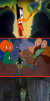 Duck Tracy vs 11 favorite Disney villains