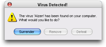 The Aizen Virus- mac version by KyokiNeko