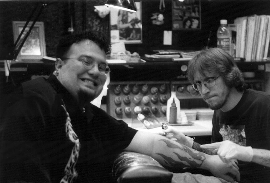 Tony gets drilled by natemc on deviantart for Everett tattoo emporium