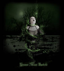 Green Mist Swirls by Eternal-nocturne