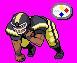 BW Sprite Edit- Football Team by animega90