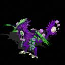 Spore-Mega Grape Dragon PNG by PukingRainbow