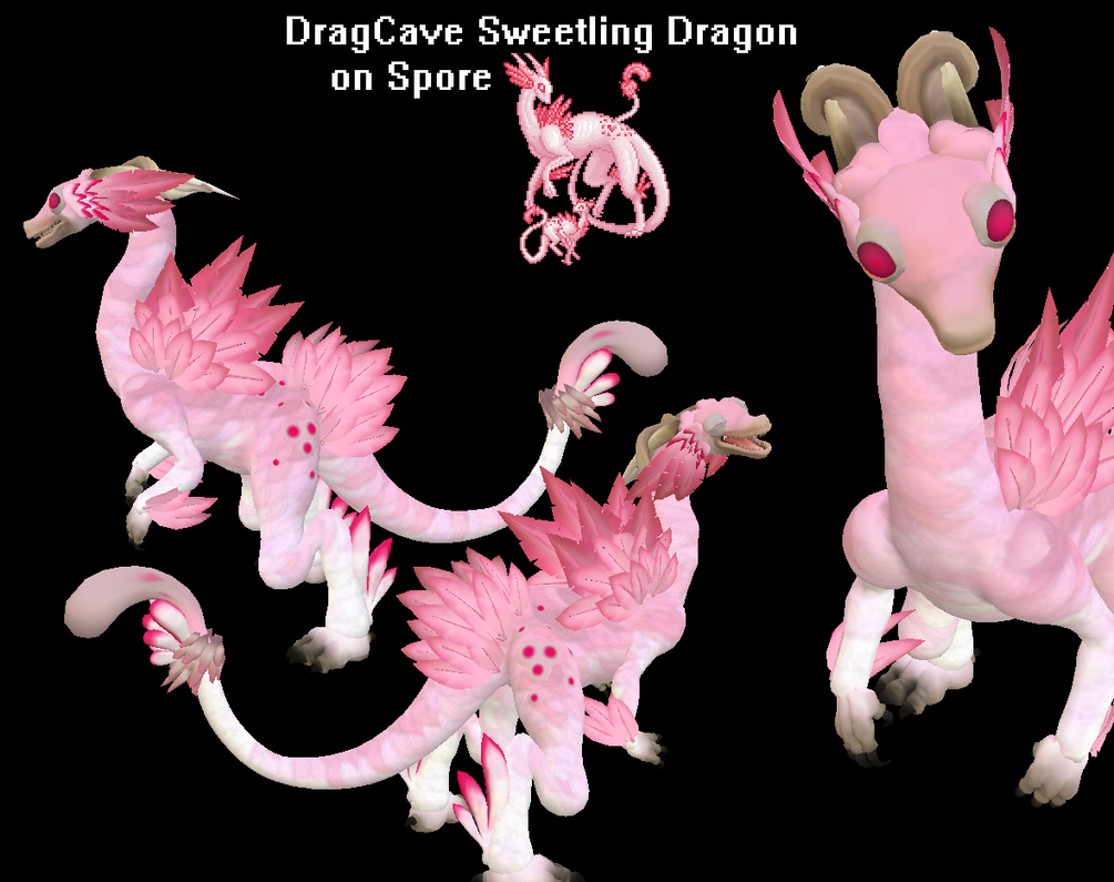 Spore-DragCave Sweetling Dragon by PukingRainbow