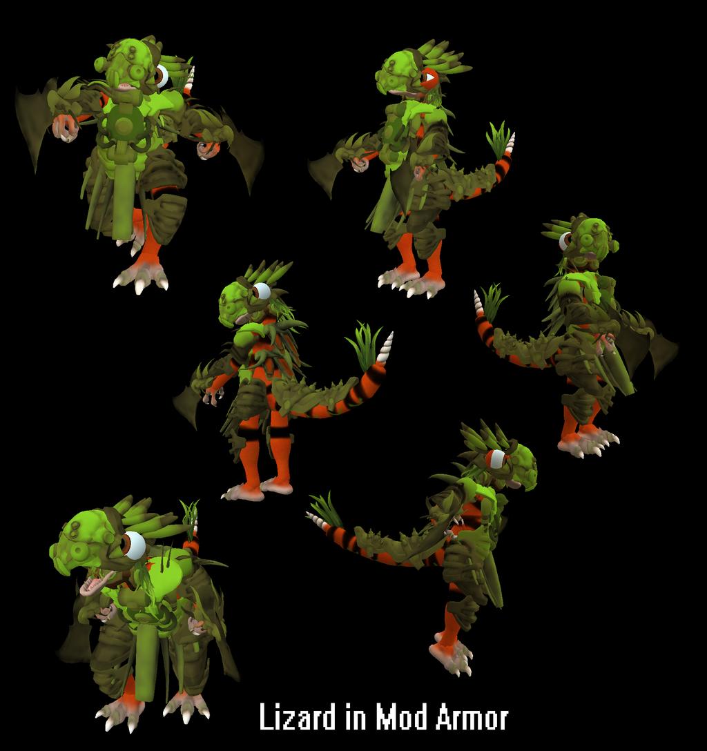 Mod Lizard by PukingRainbow