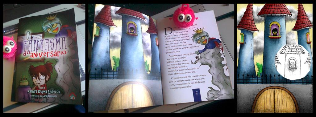 O Fantasma do Aniversario - Livro Infantojuvenil by LahBT
