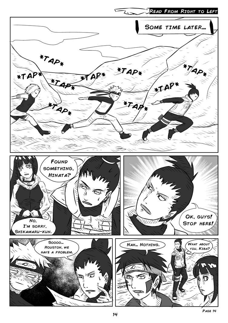 Pg 14 - Ch 2 (Beware: It's Malfunctioning) Doujin by LahBT