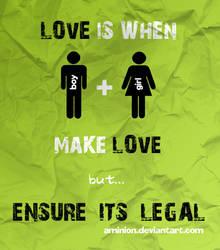 love by aminion