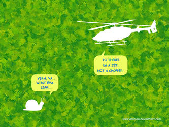 chopper n snail by aminion