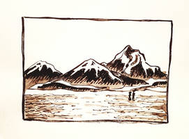 Ink mountains 10 20 2018 by BlackPandaOps