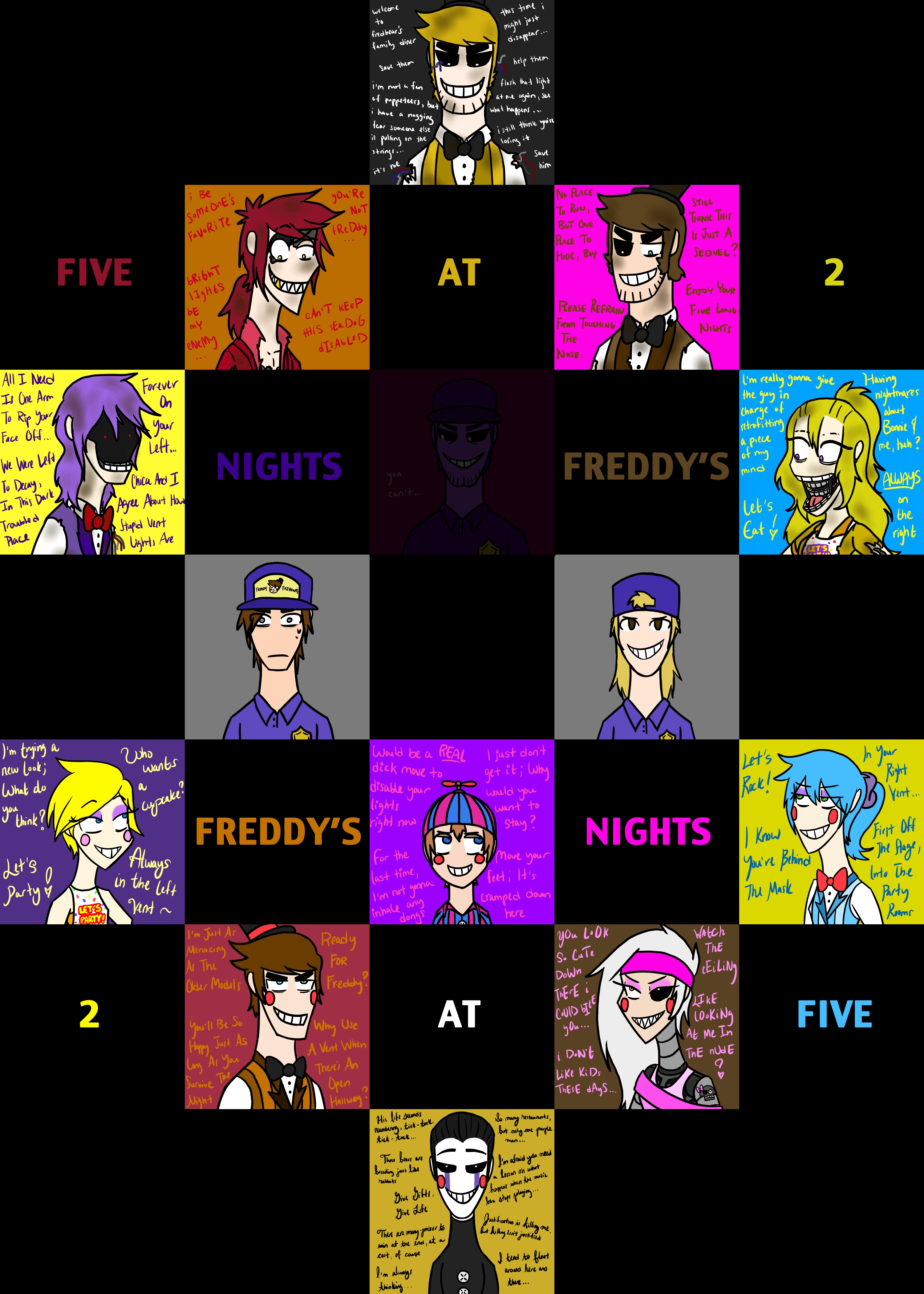 Five nights at freddy s 2 by super spazcat on deviantart