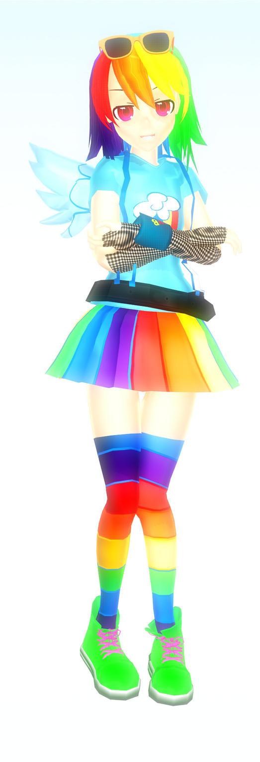 Rainbow Dash by petite-gloomy