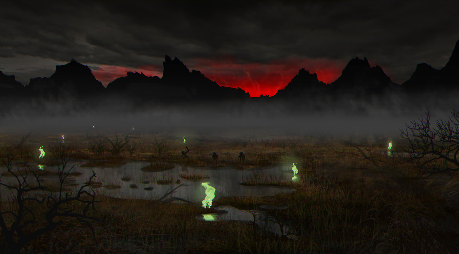 Dead Marshes - Don't Follow the Lights!