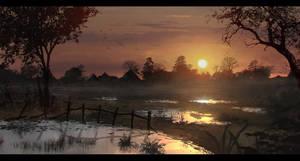 Swamp Sundown