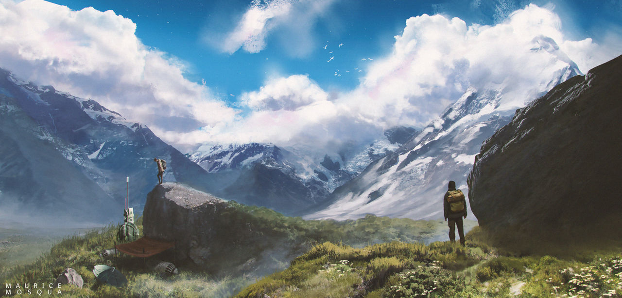 Forgotten Outpost by Enthing