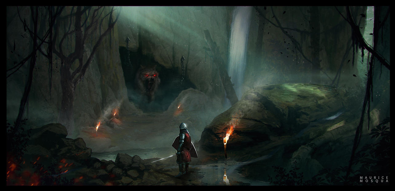 The Wolves Den by Enthing