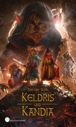 Keldris und Kandia | Book cover by Enthing