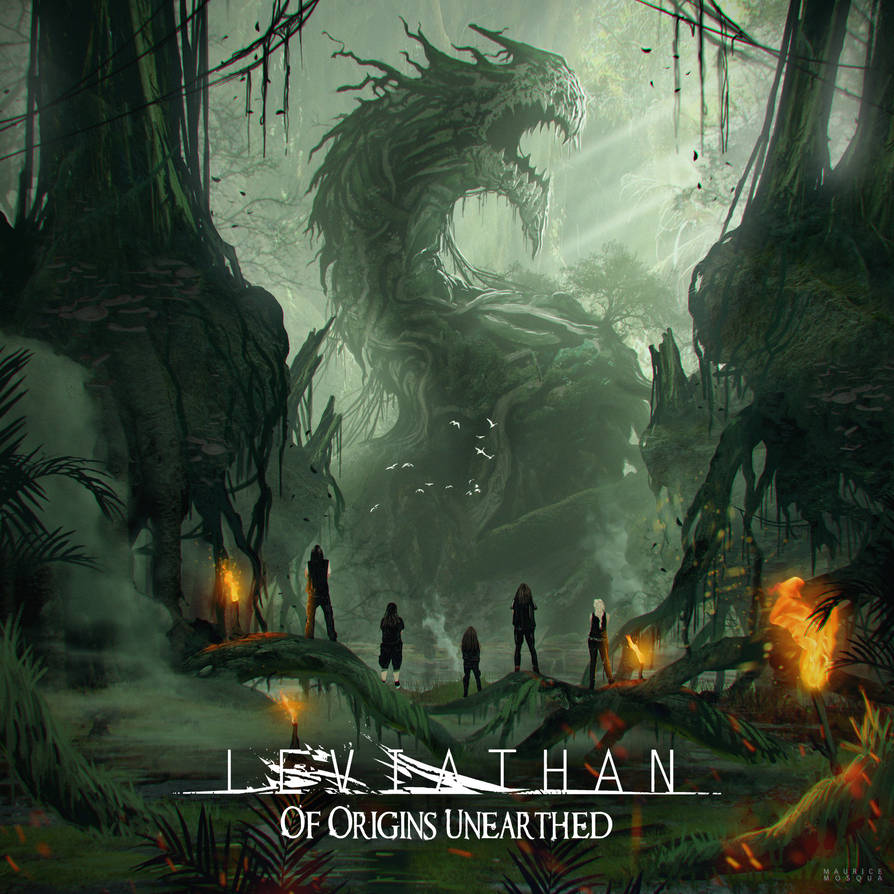 Album Cover - Leviathan by Enthing