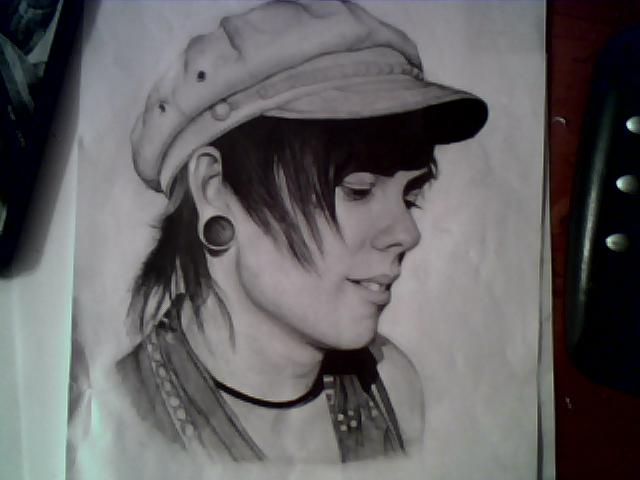 Chris Drew pencil drawing by Hay182 on DeviantArt