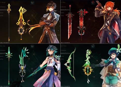 Genshin x Kingdom hearts
