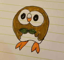 Rowlet by gamerkittylilly